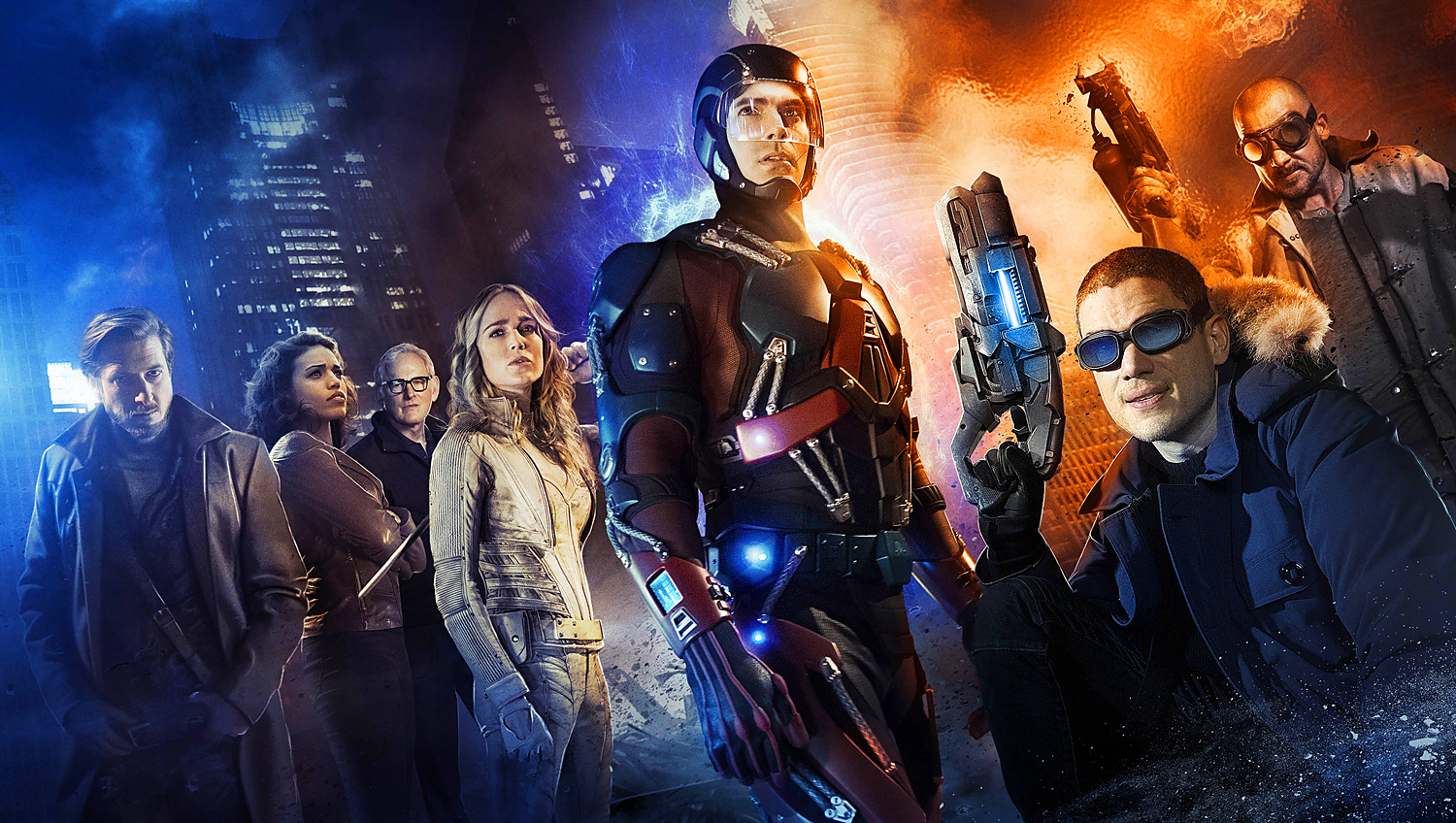 Legends of Tomorrow - Starring Victor Garber as Professor Martin Stein of Firestorm