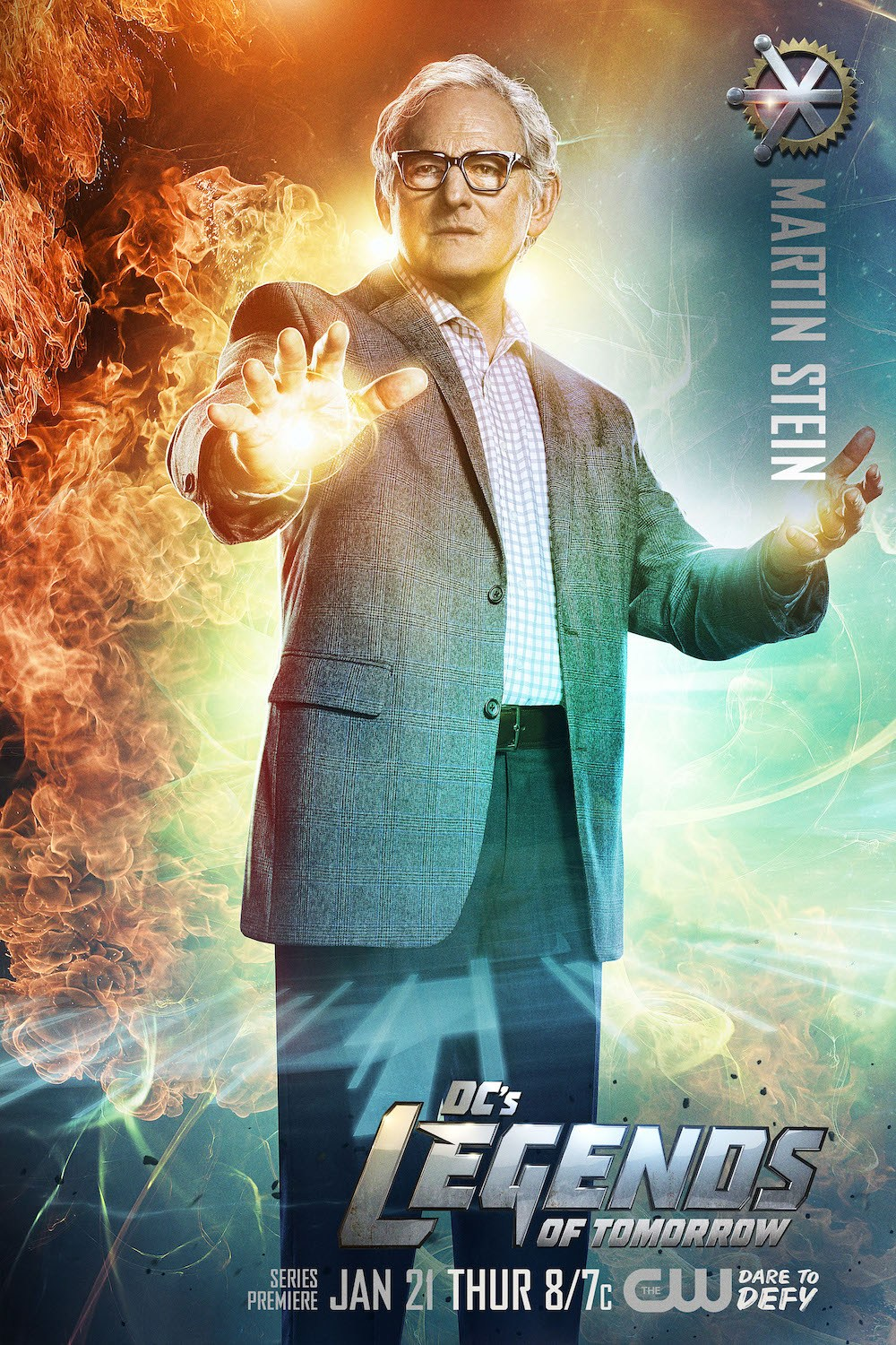 Legends of Tomorrow - Professor Martin Stein played by Victor Garber