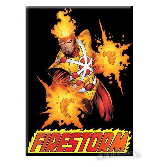 Firestorm Magnet from SuperHeroStuff.com