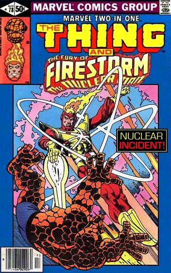 Marvel Two-in-One featuring Firestorm