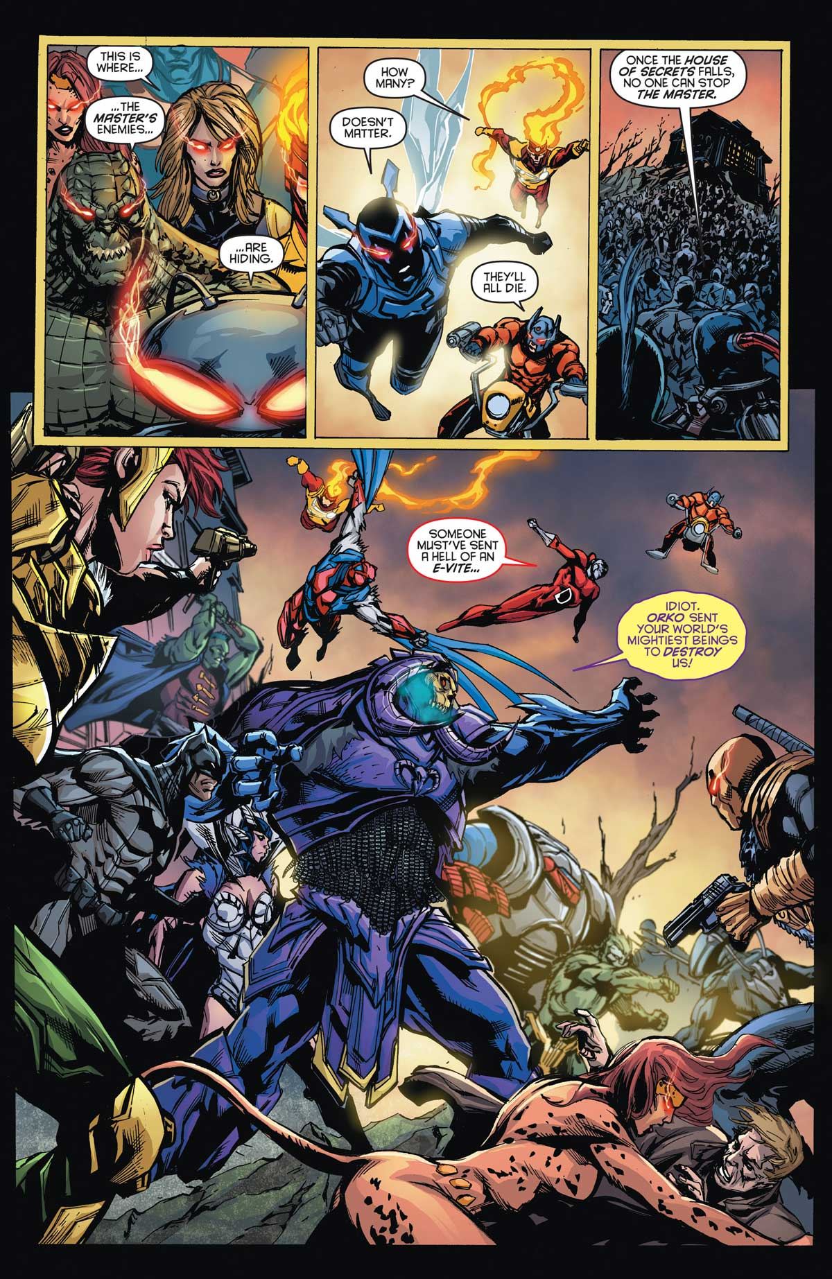 DC Universe vs Masters of the Universe #6