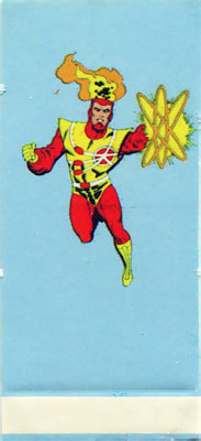 Firestorm in 1985 Mayfair DC Heroes RPG