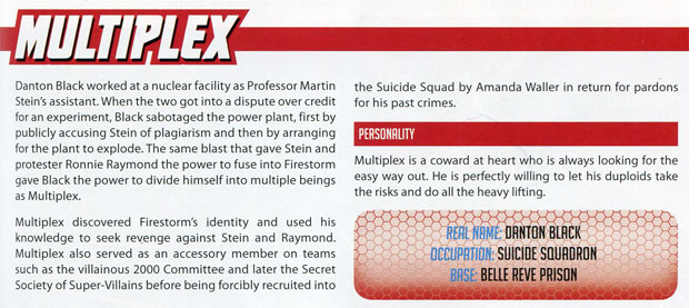 Multiplex from Green Ronin's DC Adventures Heroes and Villains vol 2