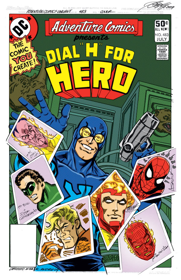Bill Raupp's Multiverse series - art by Anthony Castrillo, Alex Saviuk, Pat Broderick, Ron Wilson, Joe Staton, Dick Giordano and Ethan Van Sciver; colors by Derek Muthart