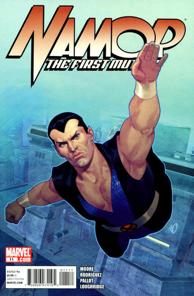 Namor: The First Mutant #11 by Stuart Moore