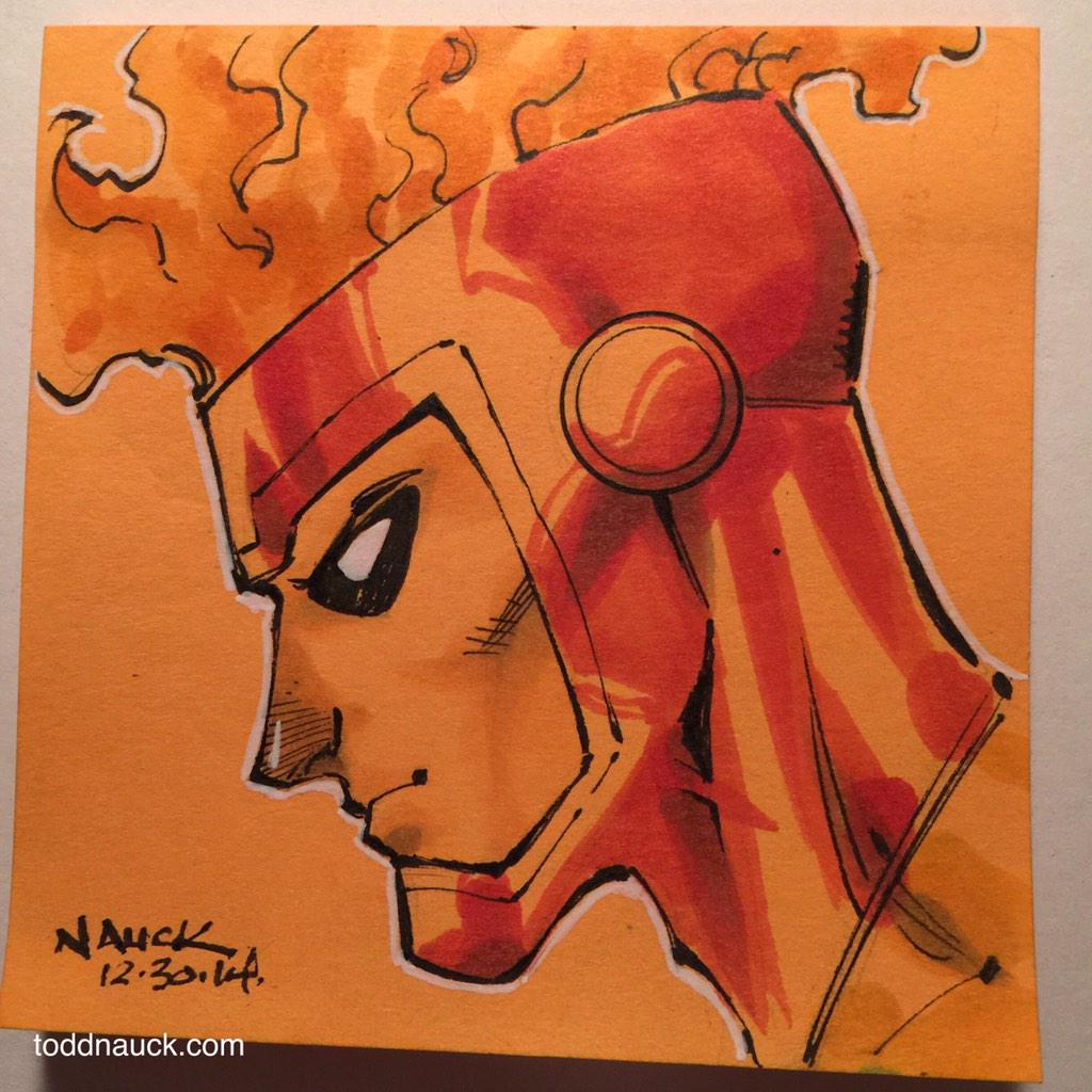 Todd Nauck draws Firestorm