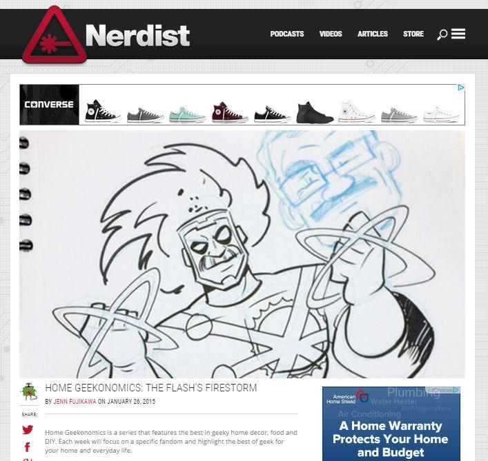 Firestorm article on The Nerdist