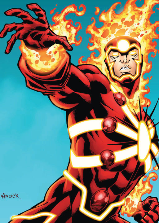 Todd Nauck Firestorm DC Comics The New 52 Trading Card