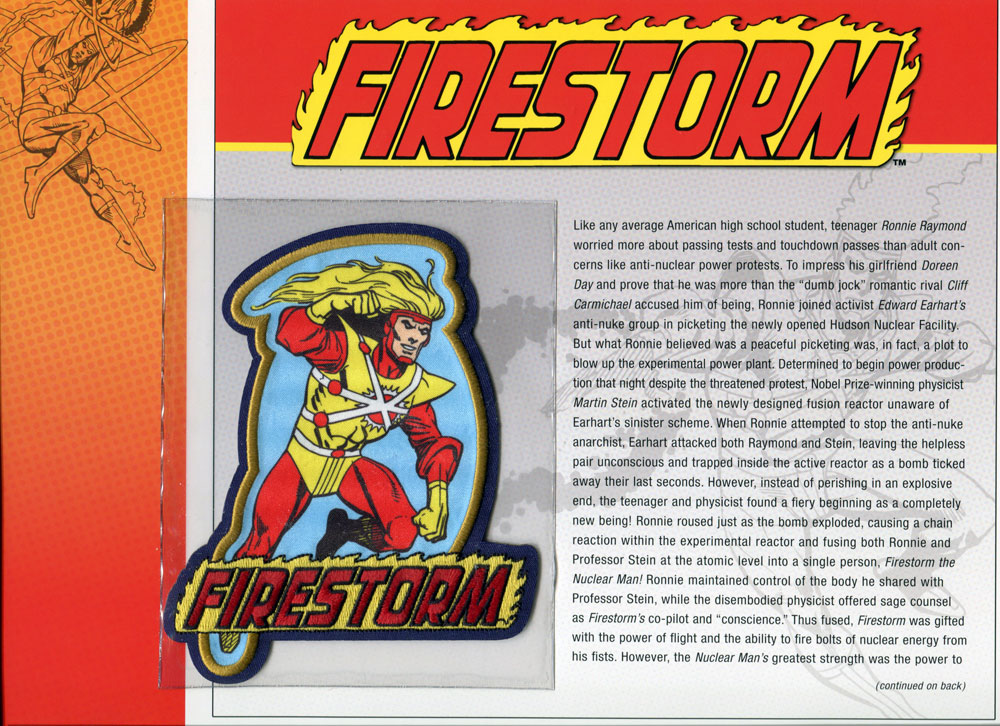 Firestorm patch from Willabee & Ward