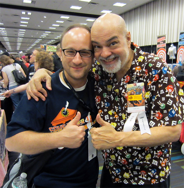 George Perez and Shag at DragonCon 2012