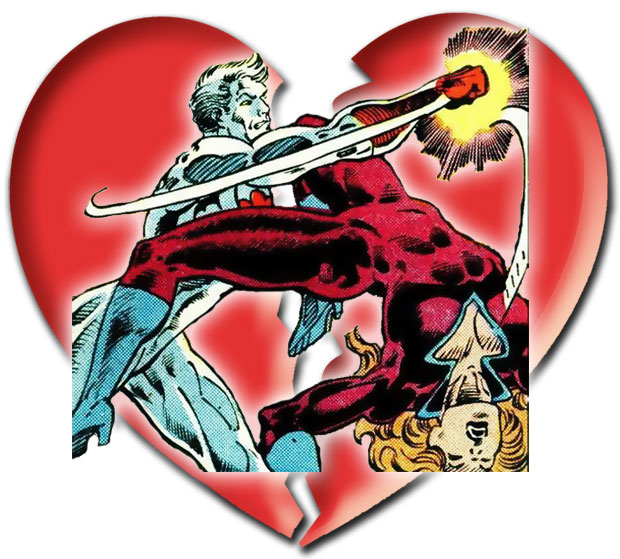 Unhappy Valentine's Day to Plastique and Captain Atom