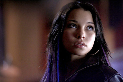 Plastique on Smallville played by Jessica Parker Kennedy