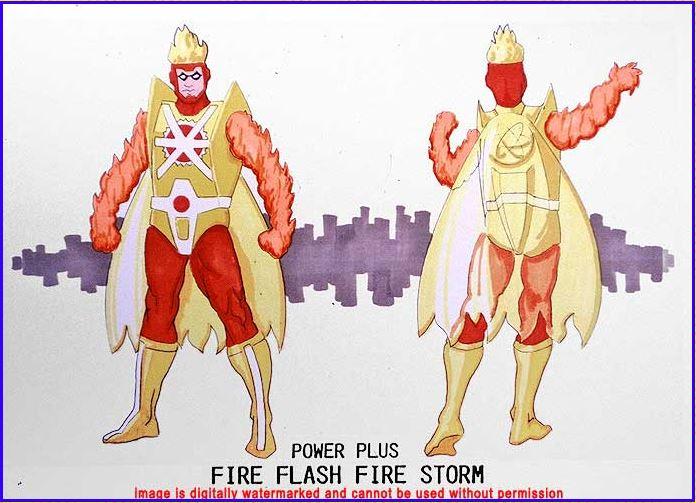 Firestorm Super Powers Power Plus Fire Flash