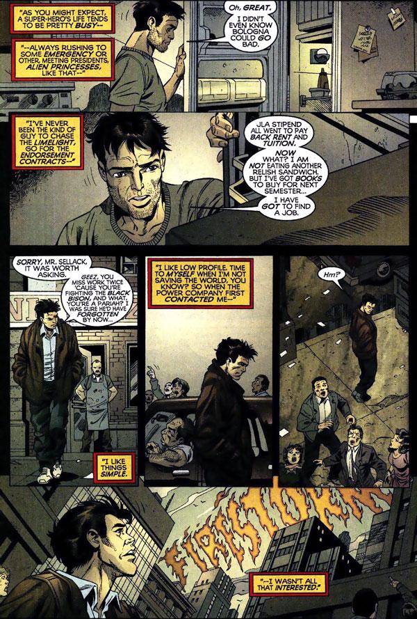Power Company #11 by Kurt Busiek, Tom Grummett, and Prentis Rollins