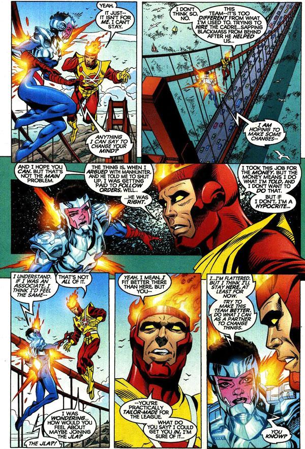 Power Company #16 by Kurt Busiek, Tom Grummett, Prentis Rollins, and Al Vey