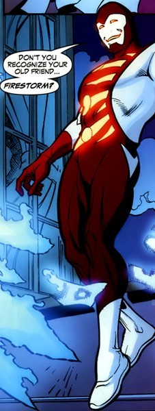 Mikhail Arkadin as Pozhar from Firestorm the Nuclear Man #27