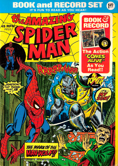 Power Records Podcast - Spider-Man Man-Wolf