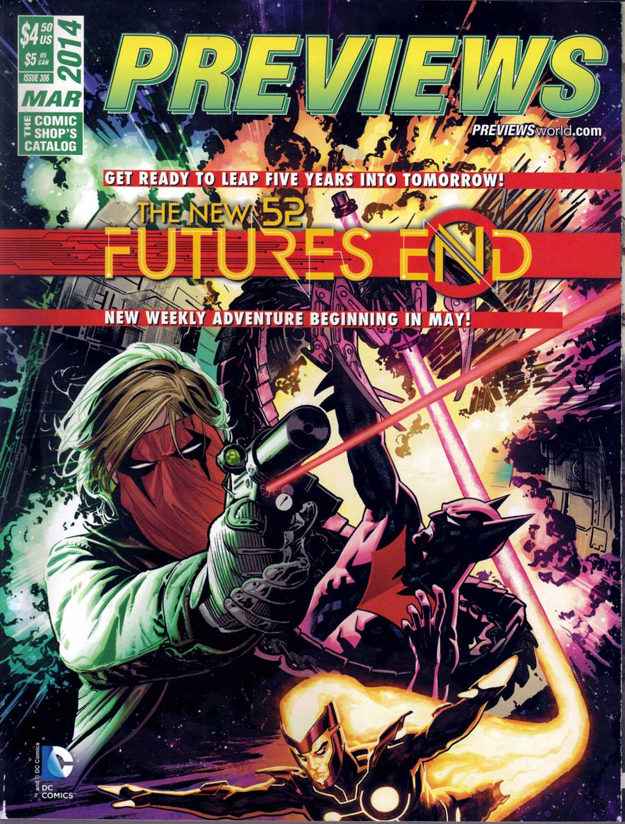 Diamond Comics Previews March 2014 - The New 52 Futures End