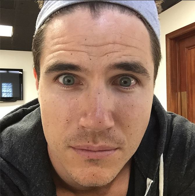 Robbie Amell preparing for Firestorm on CW Flash