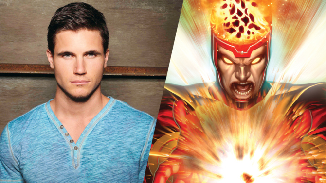 Robbie Amell will play Ronnie Raymond on CW The Flash