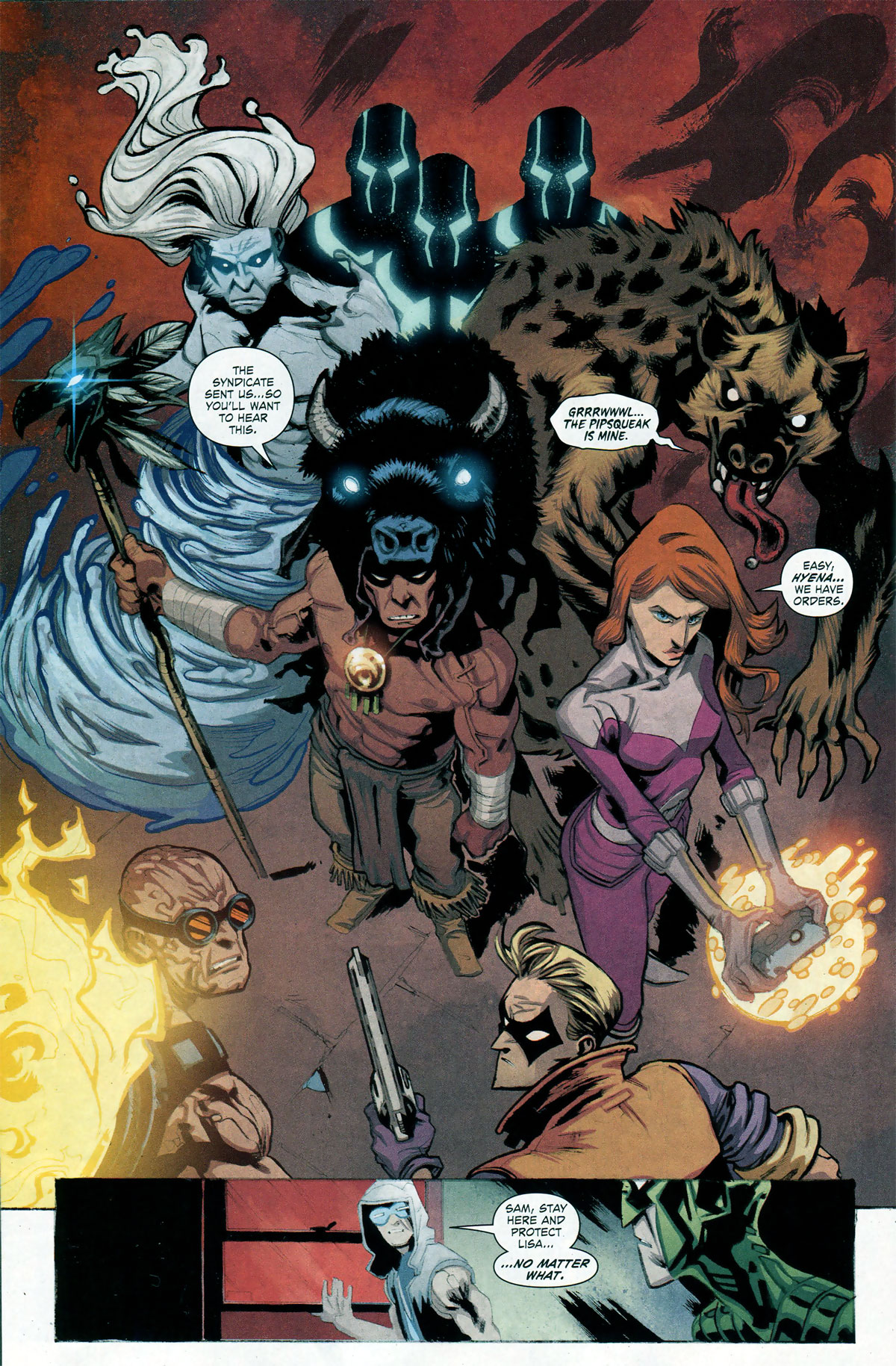 Forever Evil Rogues Rebellion #1 by Brian Buccellato, Patrick Zircher, and Scott Hepburn