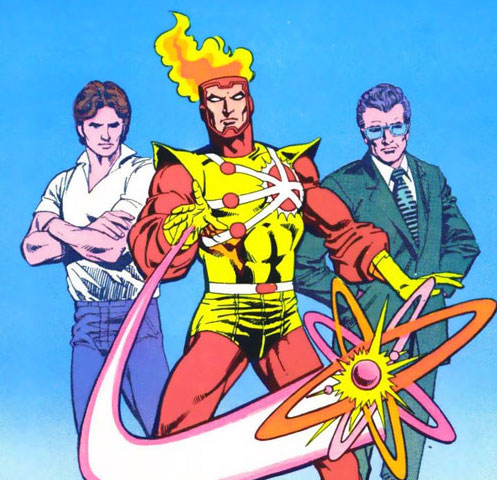 Ronnie Raymond, Professor Martin Stein, and Firestorm