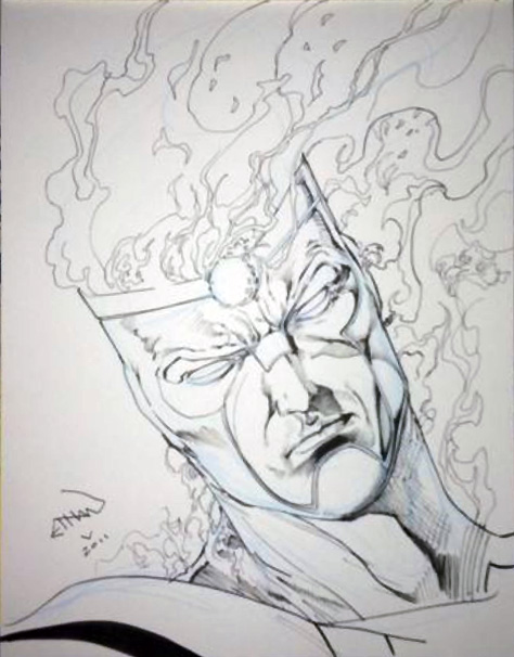 Ronnie Raymond from Fury of Firestorm by Ethan Van Sciver