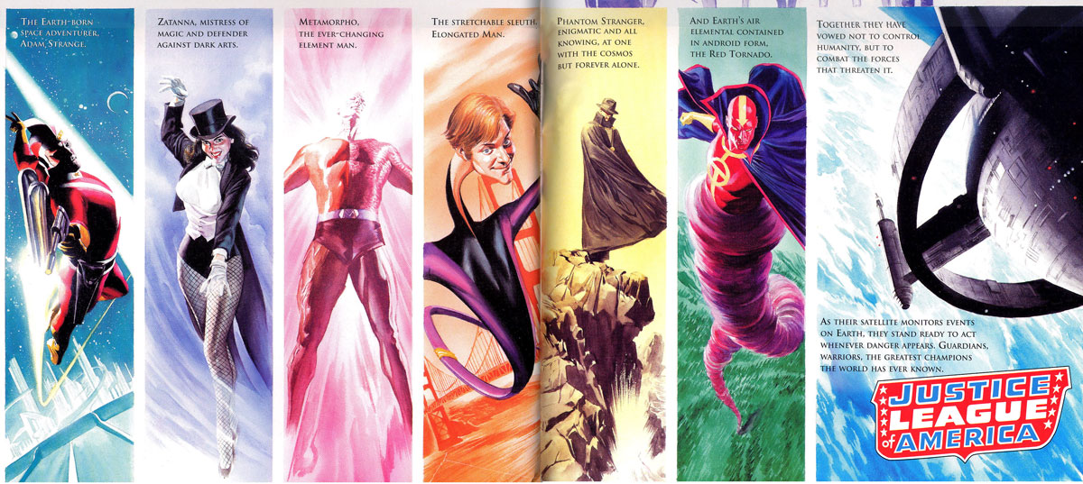JLA Secret Origins by Paul Dini and Alex Ross
