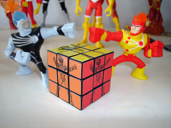 Firestorm Super Amigos Rubik Cube from Argentina