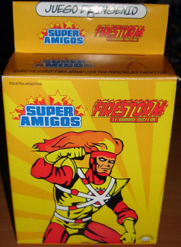 Firestorm Super Amigos Rubik Cube from Argentina