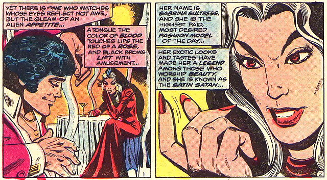 Satin Satan in Justice League of America