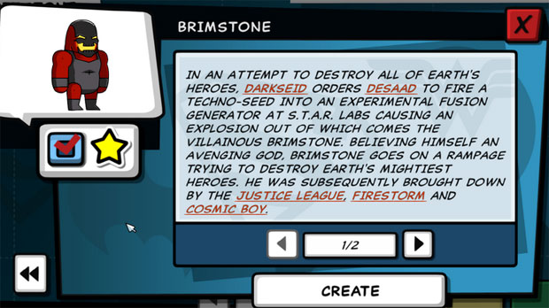 Scribblenauts Unleashed Brimstone