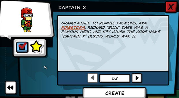 Scribblenauts Unleashed Captain X