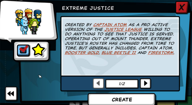 Scribblenauts Unleashed Firestorm in Extreme Justice