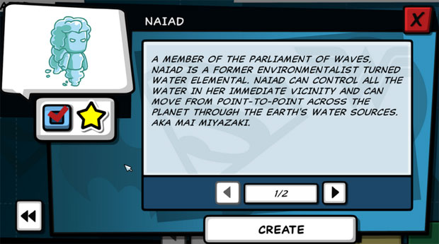Scribblenauts Unleashed Naiad