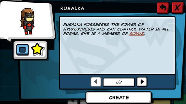 Scribblenauts Unleashed Soyuz Rusalka