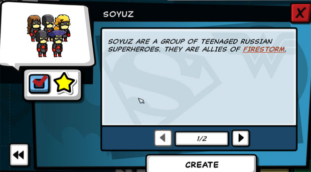 Scribblenauts Unleashed Soyuz