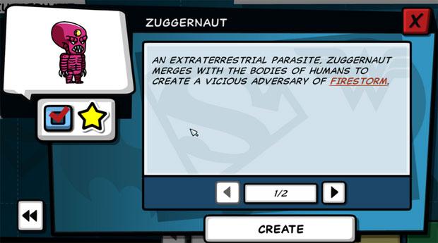 Scribblenauts Unleashed Zuggernaut