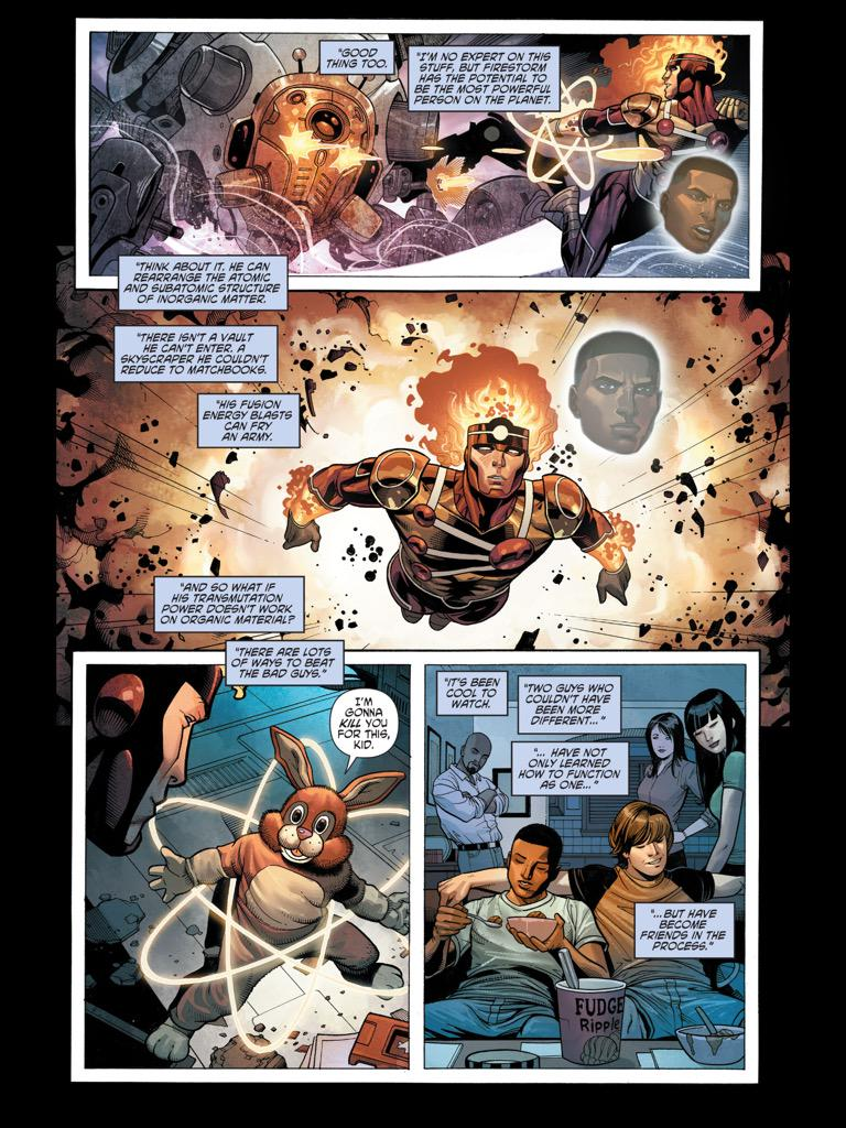 Firestorm in Secret Origins #10
