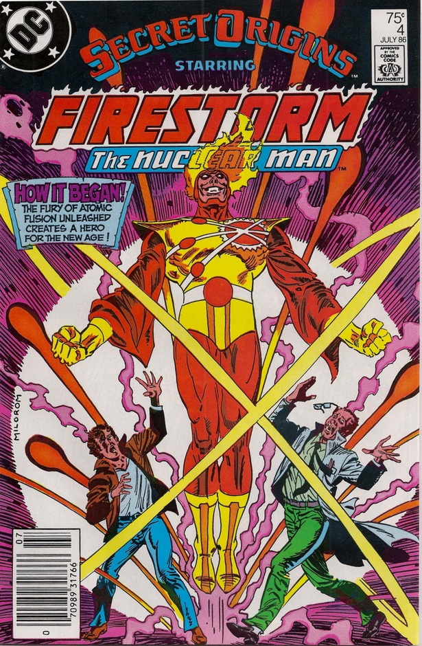 Secret Origins #4 starring Firestorm