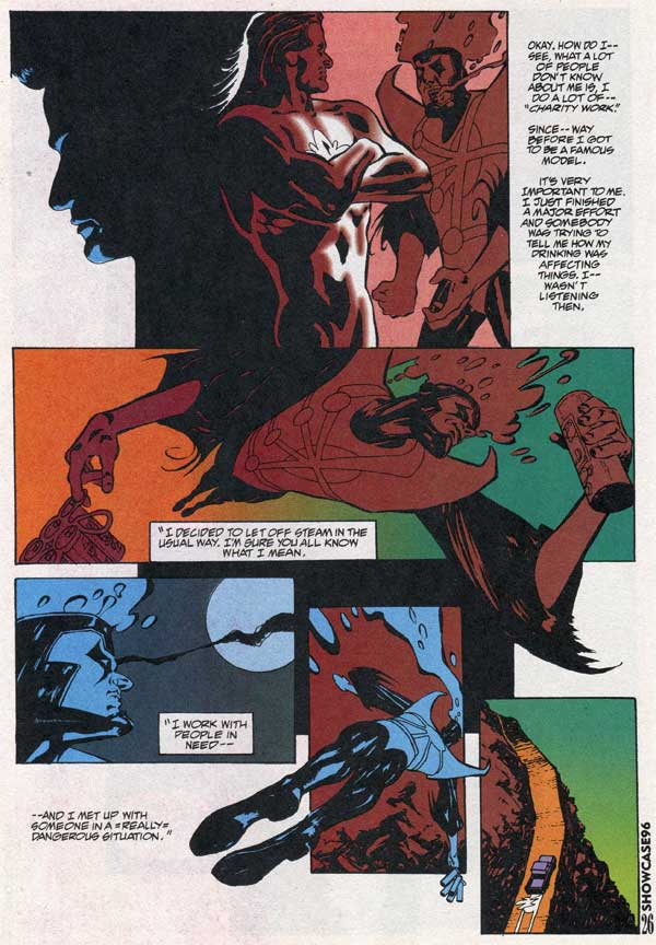Firestorm and alcoholism in Showcase 96 #6