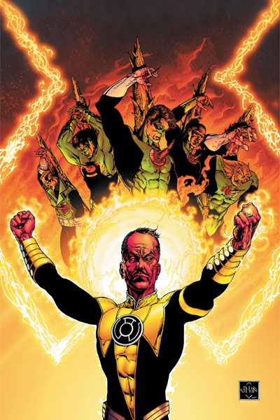 Sinestro Corps War by Ethan Van Sciver