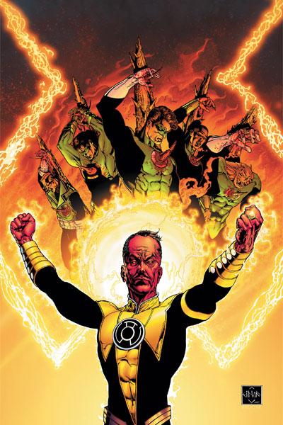 Sinestro Corps War by Ethan Van Sciver