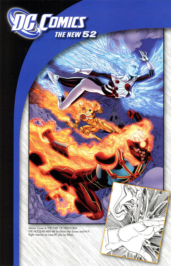 Fury of Firestorm: The Nuclear Men #7 sneak peek with Ethan Van Sciver and Joe Harris