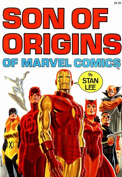 Fireside book Son of Origins of Marvel Comics