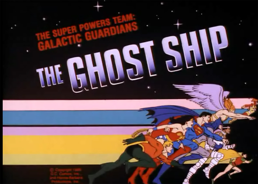 Super Power Team: Galactic Guardians - The Ghost Ship