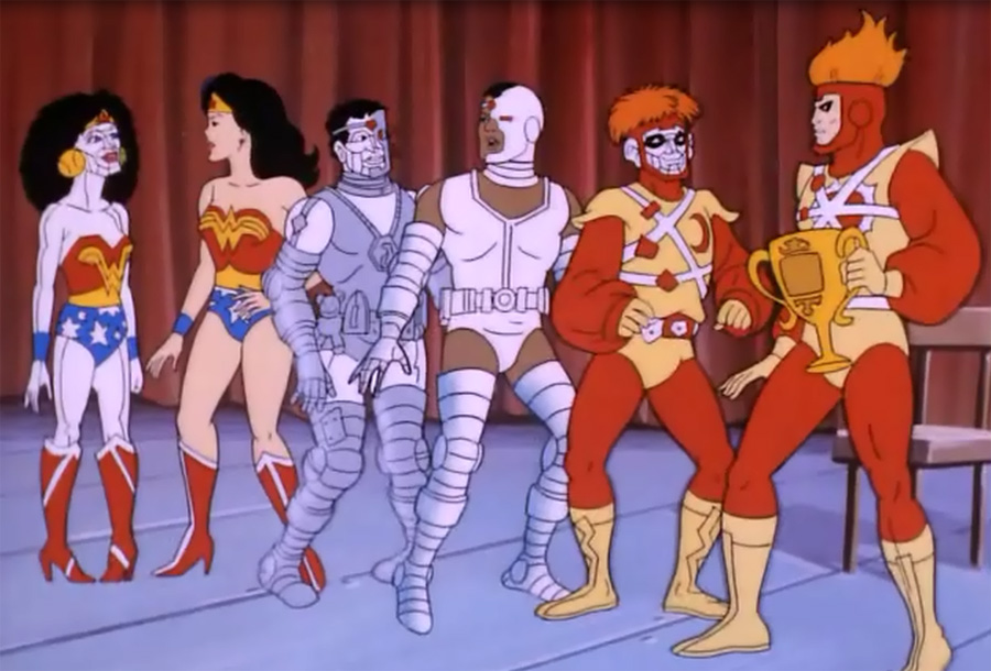 Super Power Team: Galactic Guardians - Bizarro Super Powers Team