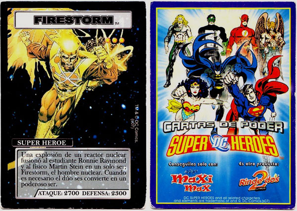 Firestorm Cartas de Poder card