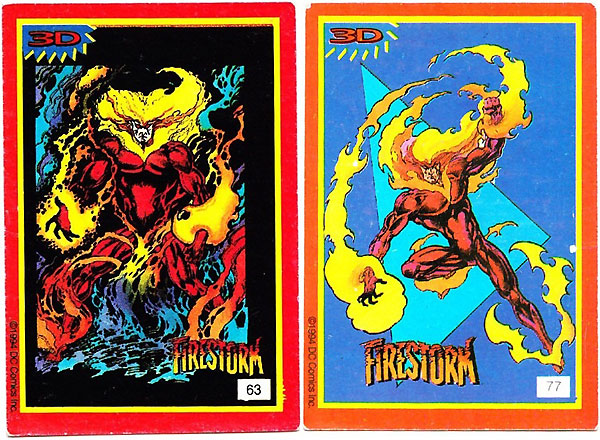 Firestorm Spanish sticker