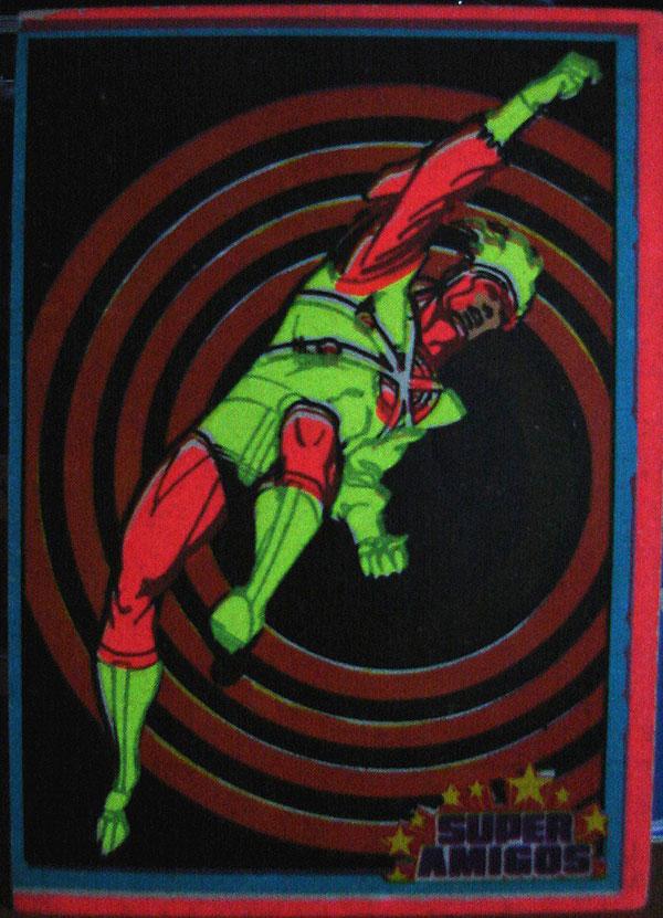 Super Amigos Firestorm sticker
